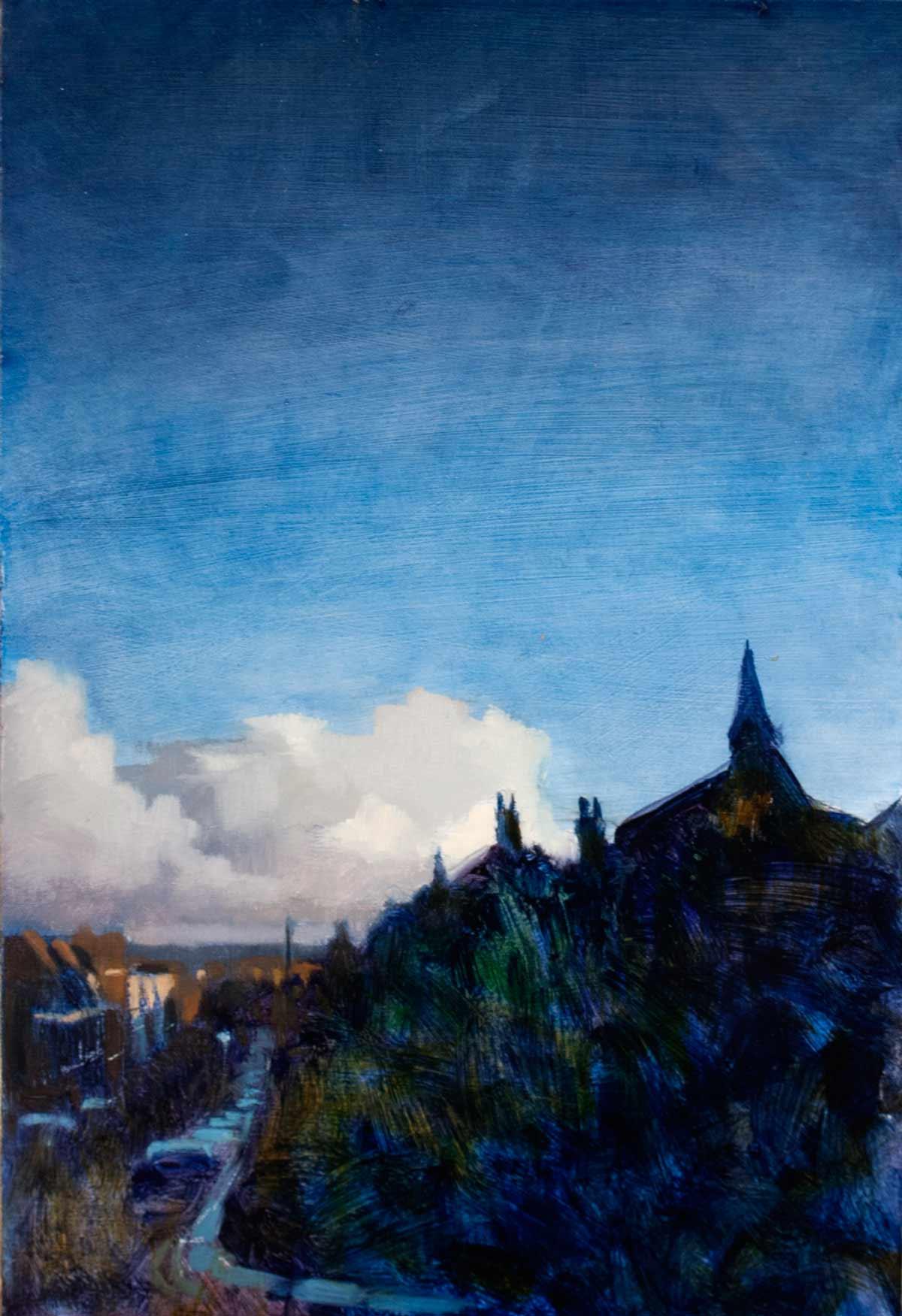 East-Dulwich,-glazed-skies